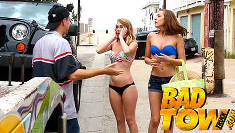 Bad Tow Truck - The Top Reality Porn Site Online by the